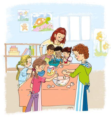 Ecole maternelle d 39 aigurande - Atelier de cuisine pour enfants ...